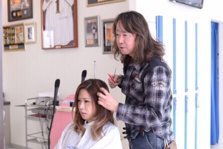 あなたの髪の悩みをしっかりお聞きします。