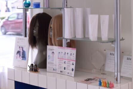 毛髪コンサルティング