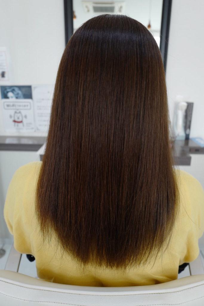ツヤ髪 髪質改善 トリートメント
