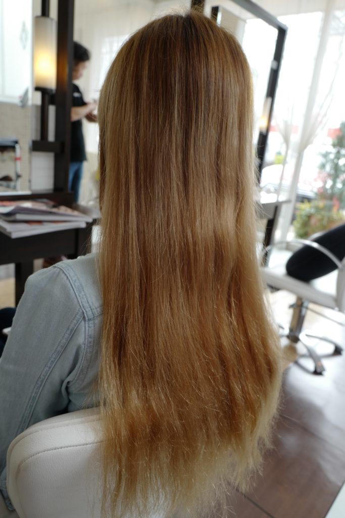 ハイトーン 金髪