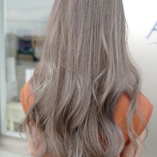 美容室アシック 伊勢崎 美容室 美容師 ブログ 髪質改善 求人 カラー ハイライト ラベンダーアッシュ