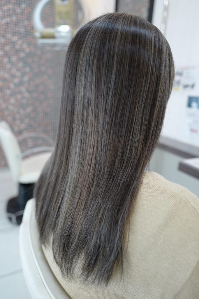 美容室アシック 伊勢崎 美容室 美容師 ブログ 髪質改善 求人 透明感のあるカラー