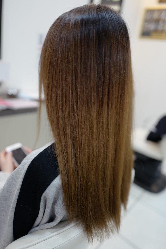 美容室アシック 伊勢崎 美容室 美容師 ブログ 髪質改善 求人  有賀聡 カラー 秋色