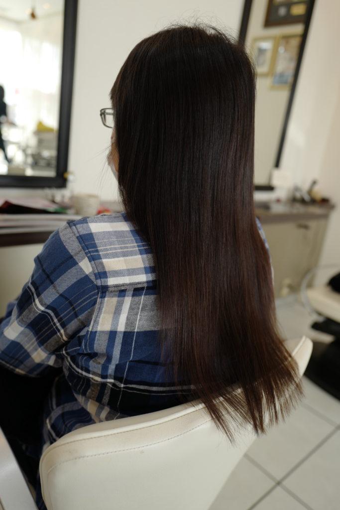美容室アシック 伊勢崎 美容室 美容師 ブログ 髪質改善 求人  超音波エクステ・グレートレングス 編み込みエクステ