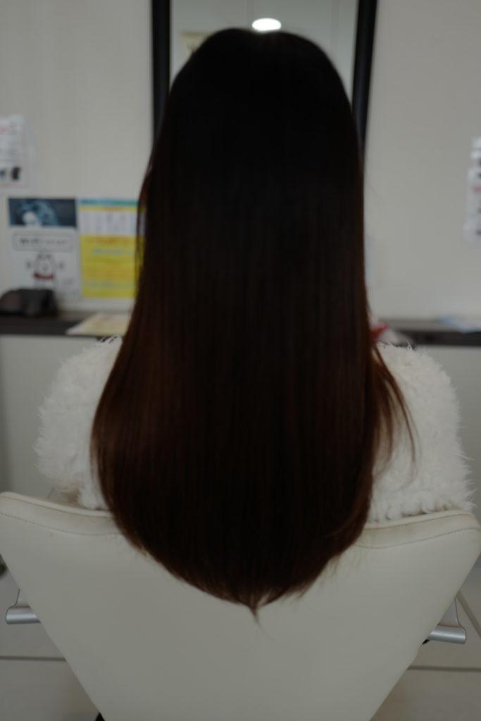 美容室アシック 伊勢崎 美容室 美容師 ブログ 髪質改善 求人  初めてのエクステ 編み込みエクステ