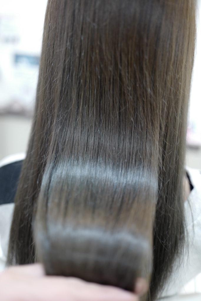 美容室アシック 伊勢崎 美容室 美容師 ブログ 髪質改善 求人  有賀聡 カラー 秋色 ツヤ髪 エクラスタトリートメント