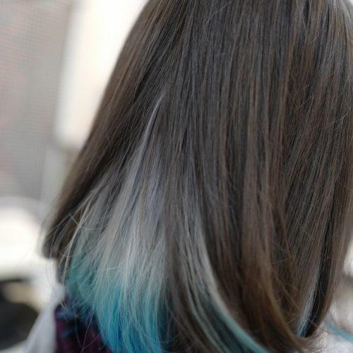 美容室アシック 伊勢崎 美容室 美容師 ブログ 髪質改善 縮毛矯正 トリートメント 求人 有賀聡 ユニコーンカラー インナーカラー