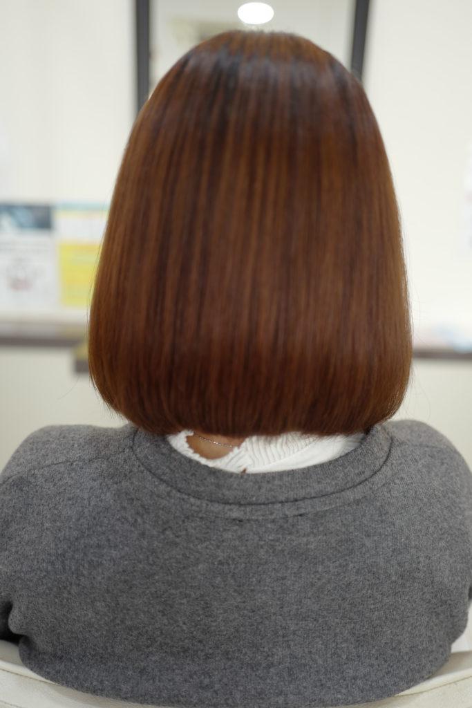 美容室アシック 伊勢崎 美容室 美容師 ブログ 髪質改善 縮毛矯正 トリートメント 求人  有賀聡  ツヤ髪 天使の輪 アイロンを使わない縮毛矯正