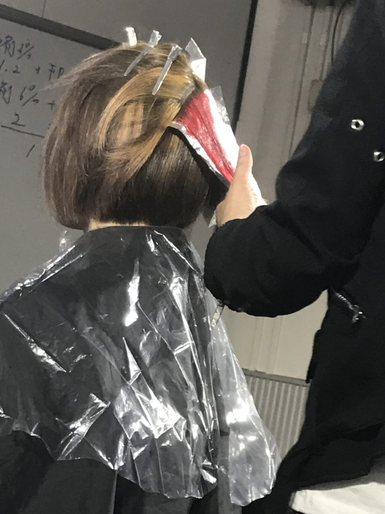 美容室アシック 伊勢崎 美容室 美容師 ブログ 髪質改善 縮毛矯正 トリートメント 求人  有賀聡  ブリーチオンカラーセミナー