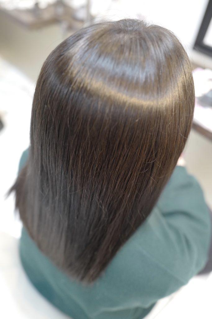 美容室アシック 伊勢崎 美容室 美容師 ブログ 髪質改善 縮毛矯正 トリートメント 求人  有賀聡  天使の輪