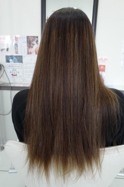 美容室アシック 伊勢崎 美容室 美容師 ブログ 髪質改善 縮毛矯正 トリートメント 求人 有賀聡 重ねて作るハイライト