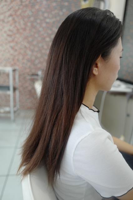 美容室アシック 伊勢崎 美容室 美容師 ブログ 髪質改善 縮毛矯正 トリートメント 求人 有賀聡 髪の毛の広がりを抑えたい