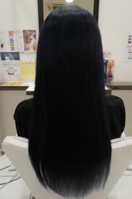 美容室アシック 伊勢崎 美容室 美容師 ブログ 髪質改善 縮毛矯正 トリートメント 求人 有賀聡 カラー 青く染める