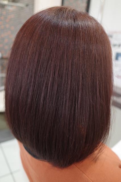 群馬県 伊勢崎市 髪質改善 美容室アシック 美容師 有賀聡  縮毛矯正 トリートメント 広がりを抑える